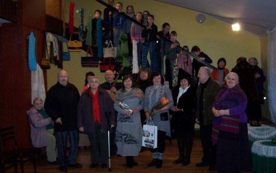"""Apsilankymas tekstilės parodoje """"Lietuviški raštai"""""""